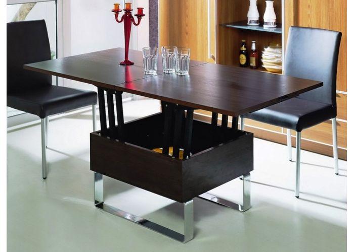 Удивить и обескуражить - задача, которую с легкостью решает стол трансформер B2218-2 (Венге